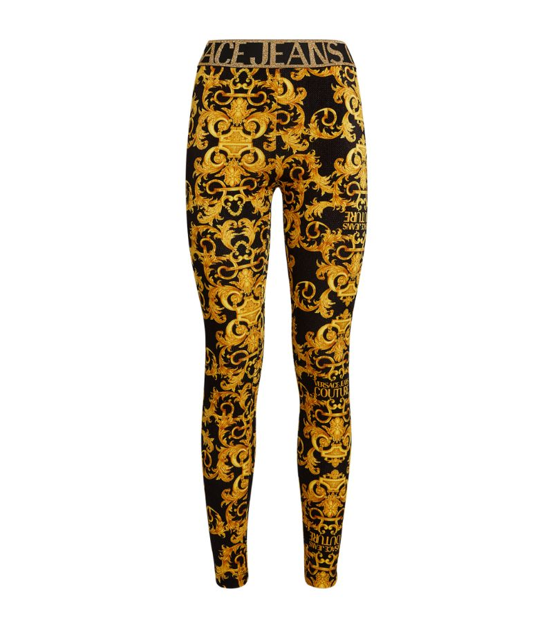 Versace Jeans Couture Baroque Print Leggings