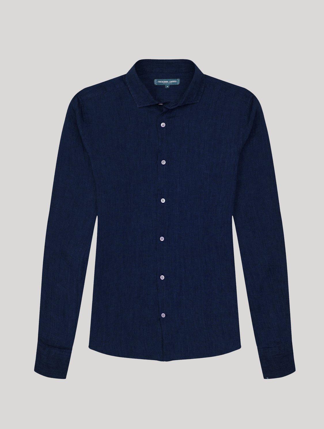 Antonio Shirt Midnight-Blue L