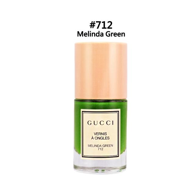 GUCCI 秀色在握指甲油#712 MelindaGreen 10ml