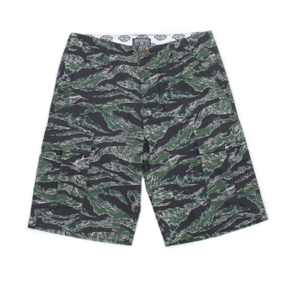 【DICKIES】WDP18109 中低腰六袋抗撕裂 工作短褲 (迷彩)