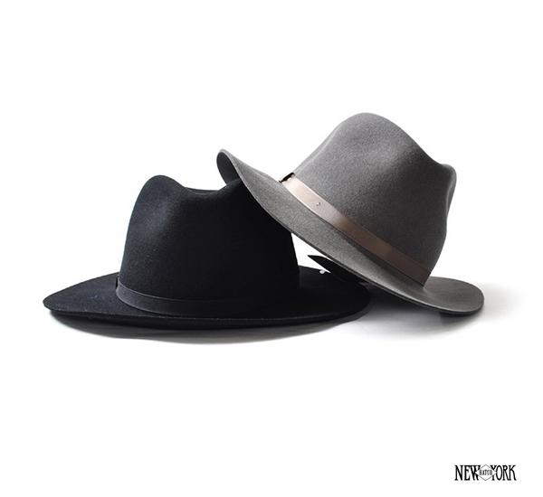 New York Hats Felt Homestead 長簷中折帽款(三色)