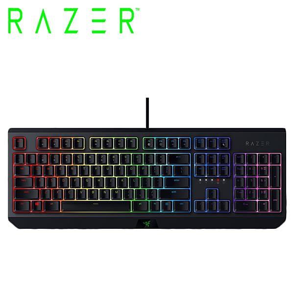 雷蛇Razer BlackWidow 黑寡婦蜘蛛【綠軸】機械式RGB鍵盤