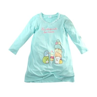 魔法Baby~大女孩居家服 台灣製角落小夥伴授權正版少女秋冬純棉連身裙  k61417
