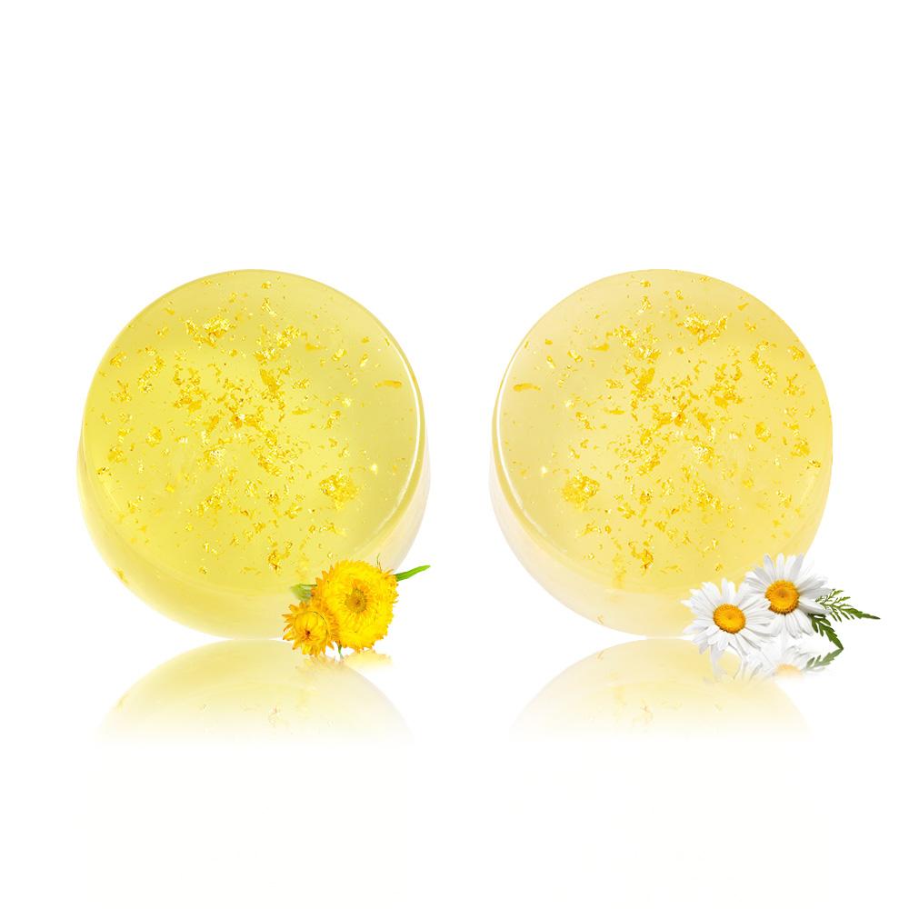 金箔亮麗修護美容皂+金箔保濕修護美容皂