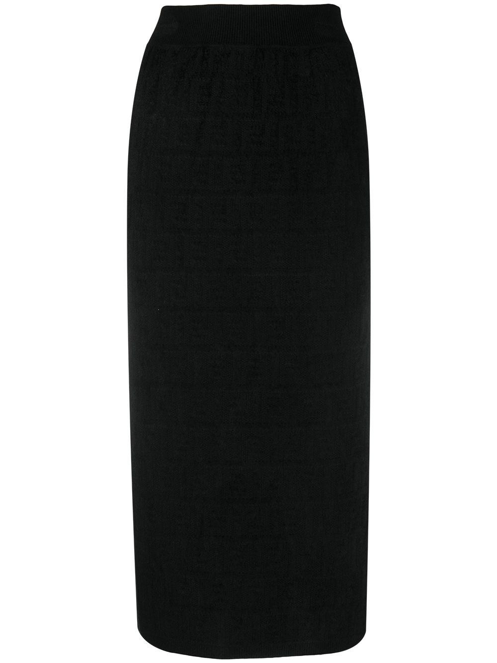 Fendi Skirts Black