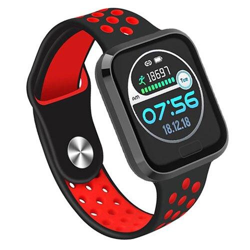 NISDA 酷跑多功能智能手錶HBL-02-紅【愛買】