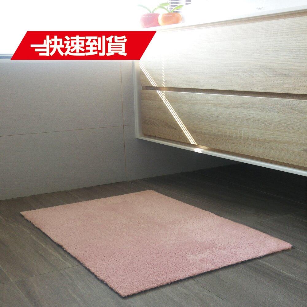 (快速到貨)《ENJOY101》矽膠布吸水防滑浴室地墊(薄型快乾-60x40cm)