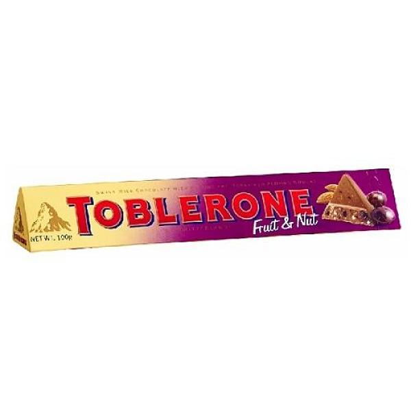 瑞士 三角巧克力葡萄堅果 100g【愛買】