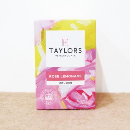 2盒40包超值組 Taylors英國皇家泰勒茶包「玫瑰檸檬茶」獨立包裝