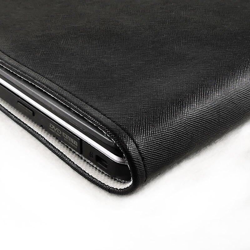 電腦防塵罩 新款皮革 筆記本電腦防塵罩 純色 裝飾保護套罩潮 底部散熱 定制『XY10341』