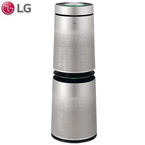 LG樂金 雙層360度空氣清淨機AS101DSS0【愛買】