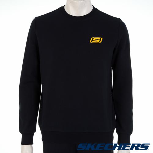 SKECHERS 男長袖衣 - L319M055-0018