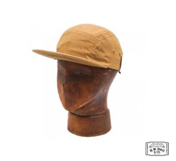 H.W.DOG&CO. JET CAP 經典五分割電繡貼布自行車帽(三色)