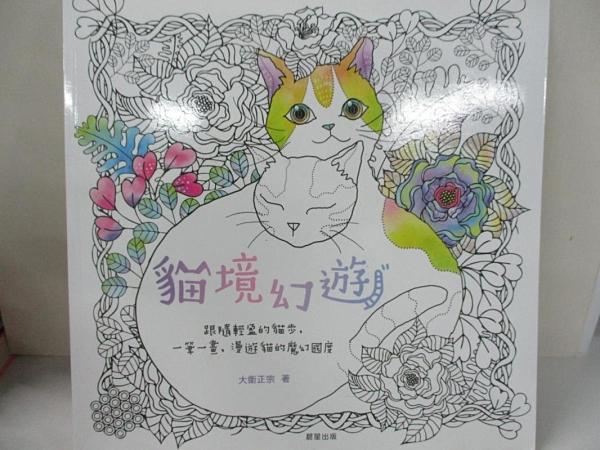 【書寶二手書T3/藝術_KAE】貓境幻遊:跟隨輕盈的貓步,一筆一畫,漫遊貓的魔幻國度_大衛正宗