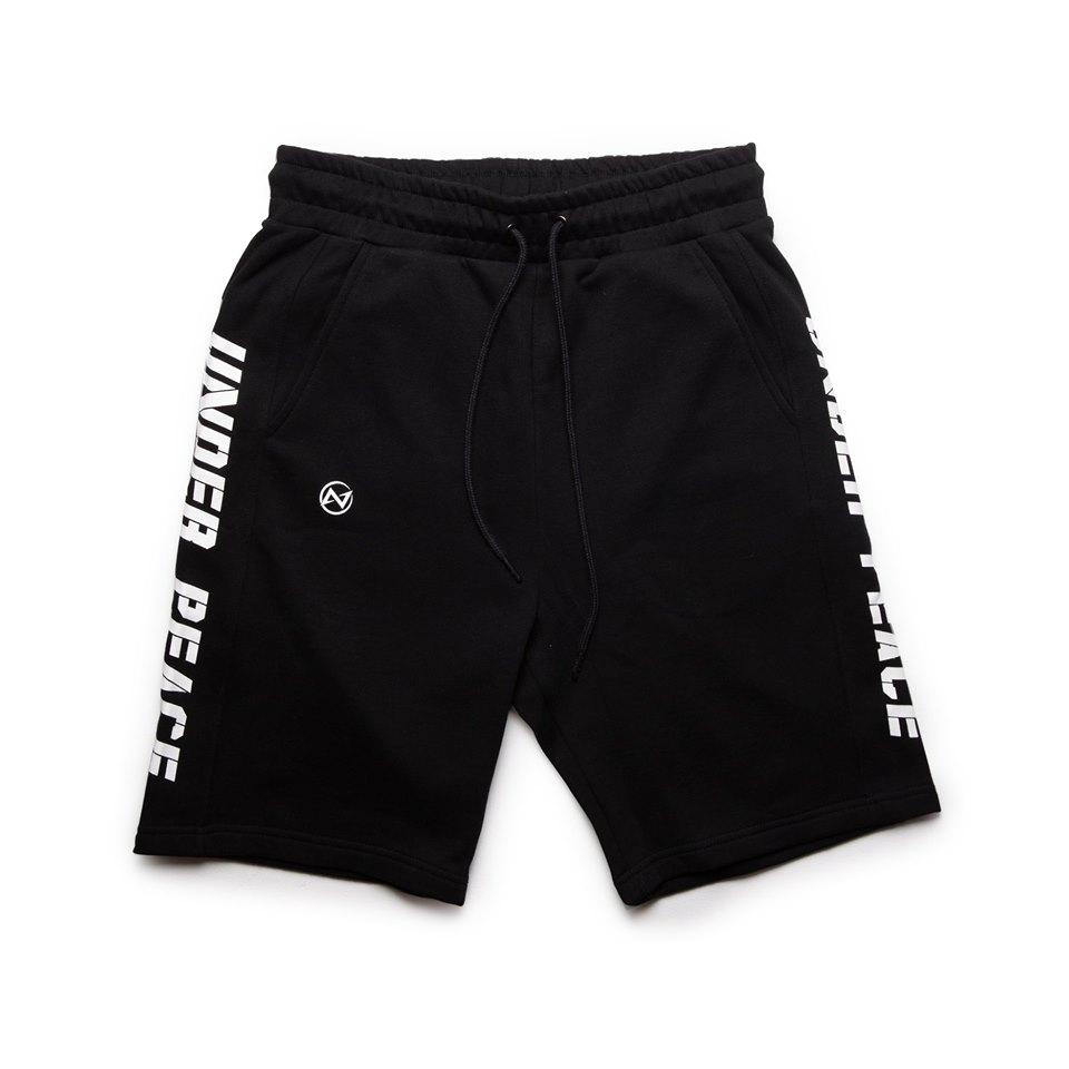 UNDER PEACE - 19SS PACE / COTTON SHORT PANTS 棉質 短褲 (黑色)