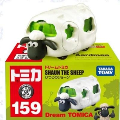 任選TOMICA 夢幻小汽車 笑笑羊_TM11423 多美小汽車