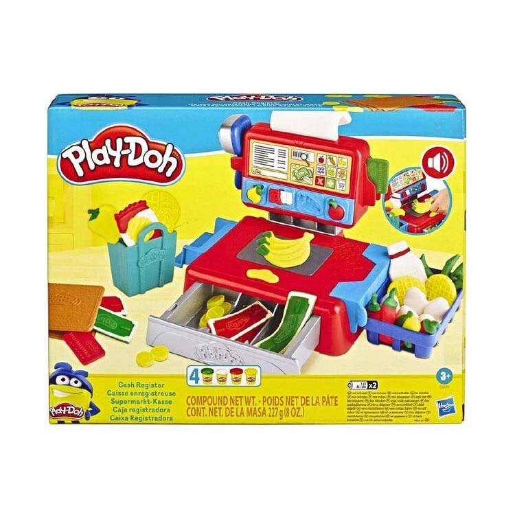 【Play-Doh 培樂多】HE6890 創意 DIY 系列 - 黏土收銀機遊戲組