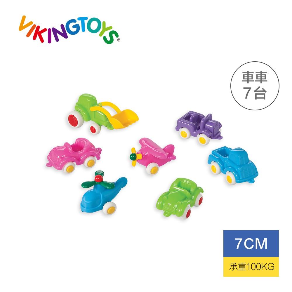 【瑞典 Viking toys】迷你交通小車隊-7cm(粉嫩色) 81129