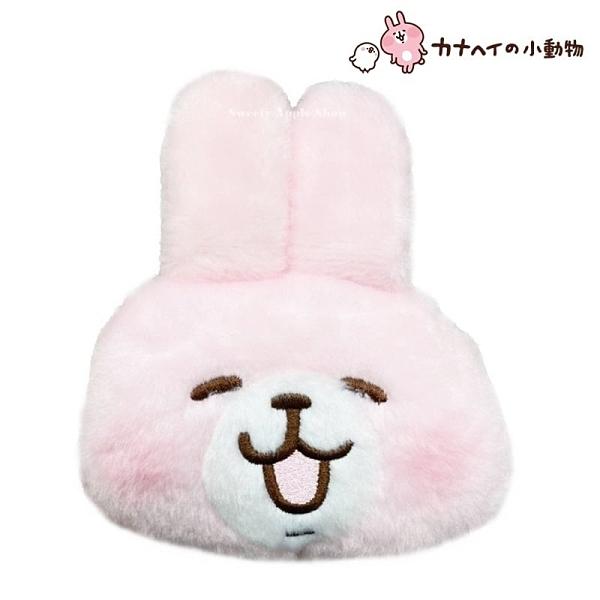 【SAS】日本限定 卡娜赫拉 兔兔 伸縮式 玩偶 票卡夾包 / 玩偶零錢包
