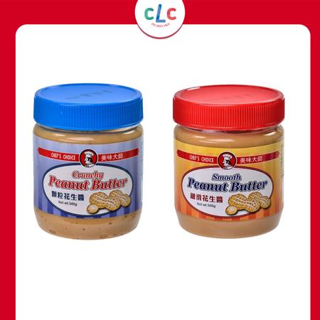 印度 CHEF'S CHOICE Smooth Peanut Butter 細滑花生醬 340g