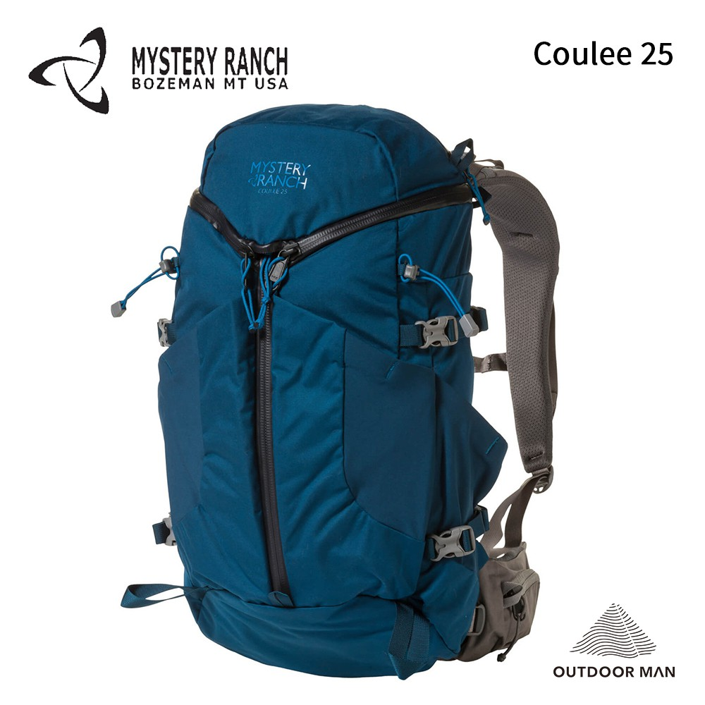 [Mystery Ranch] Coulee 25 登山包 / 德爾瑪藍Del Mar (61189) S
