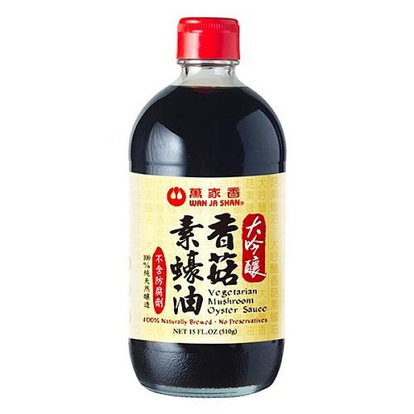 萬家香大吟釀香菇素蠔油510g【愛買】