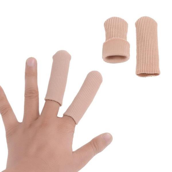 (杰恆)los0242閉口纖維護趾指套手指套腳趾外翻凝膠腳趾保護套