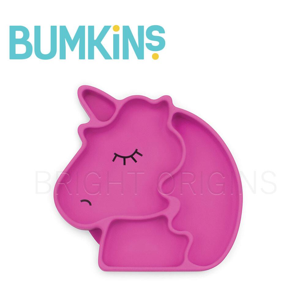 美國 bumkins 矽膠餐盤(獨角獸)