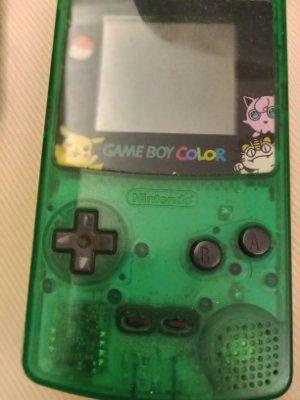 大媽桂二手屋,任天堂Game Boy Color,CGB-001,疑似當機,網路最低,值得珍藏,Gameboy遊戲機