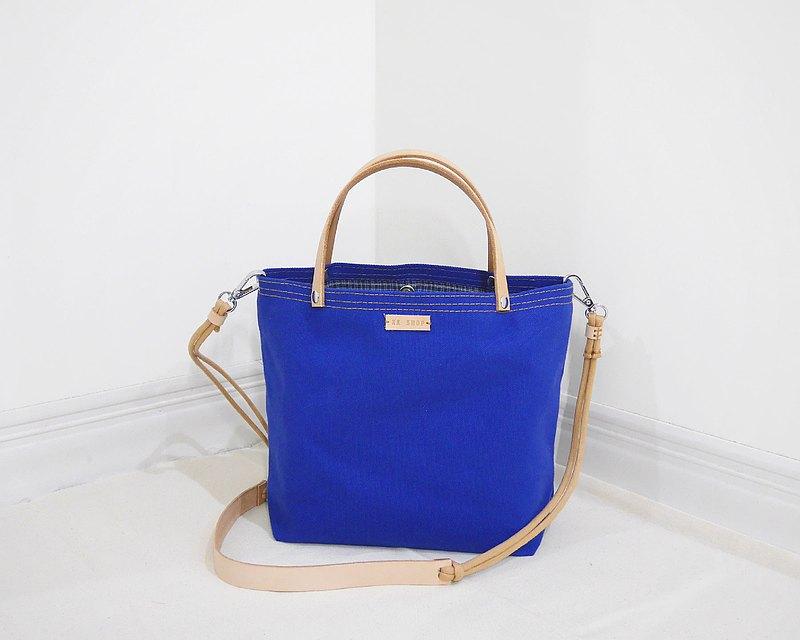 過新年 買新包兩用經典迷你 斜背包 帆布包(迷你型#35經典寶藍)