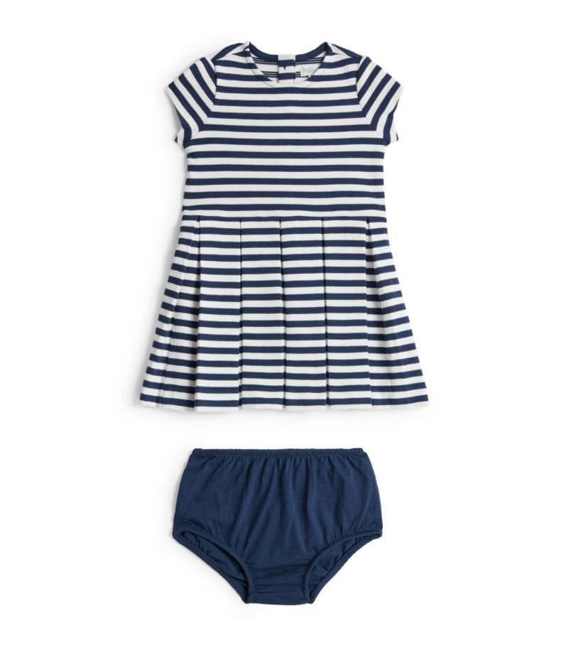 Ralph Lauren Kids Striped Dress (3-24 Months)