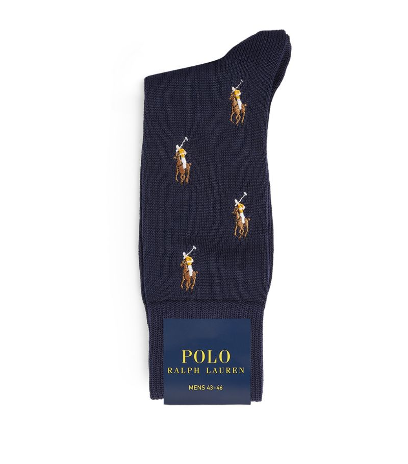 Polo Ralph Lauren Knit Polo Pony Socks