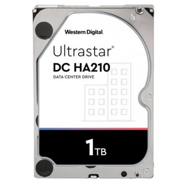 Western Digital【Ultrastar DC HA210】1TB 3.5吋企業級硬碟(HUS722T1TALA604/1W10001)
