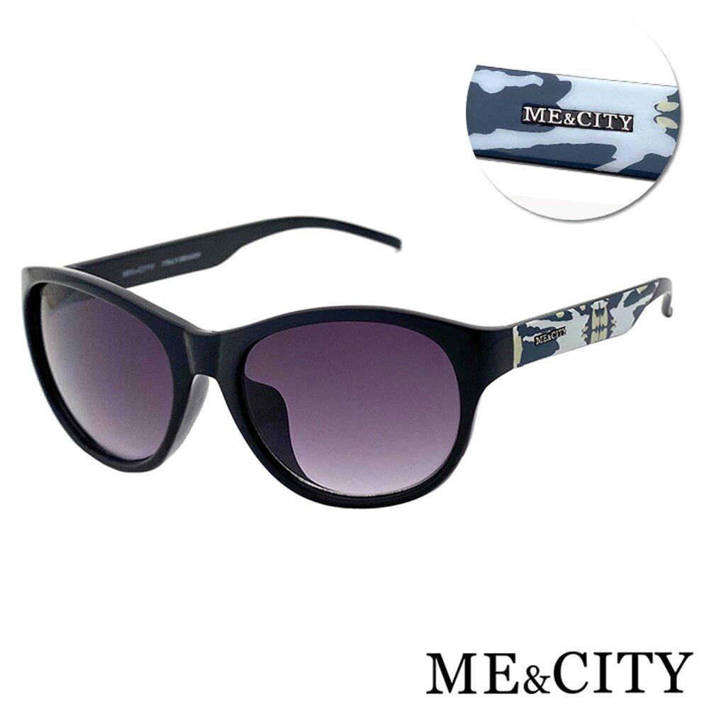 ME&CITY 時尚義式多彩紋樣太陽眼鏡 抗UV400 (ME 120005 L400)