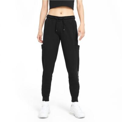 Nike NSW AIR PANT FLC MR 女運動長褲 黑-CZ8627010