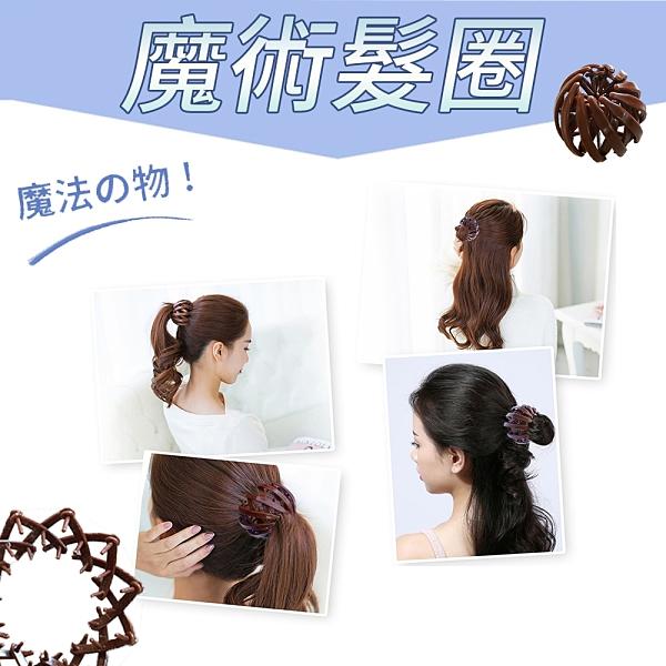 金德恩 台灣製造 一組3入 魔術髮圈