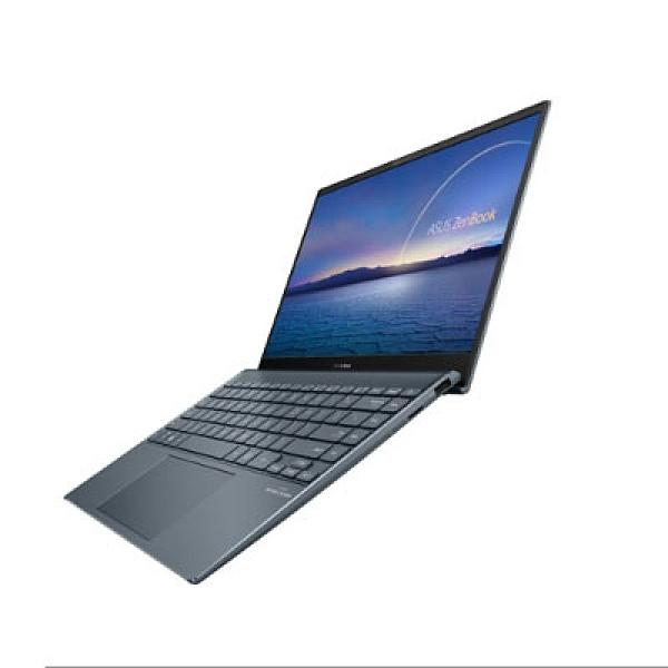 華碩 ZenBook UX325JA-0082G1035G1 世界最薄13吋筆電(綠松灰)【Intel Core i5-1035G1 / 8GB / 512GB M.2 with 32GB / W10