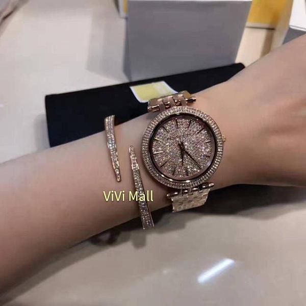 『Marc Jacobs旗艦店』Michael Kors正品實拍|美國代購|MK|MK兩件式手錶手環限量套裝組