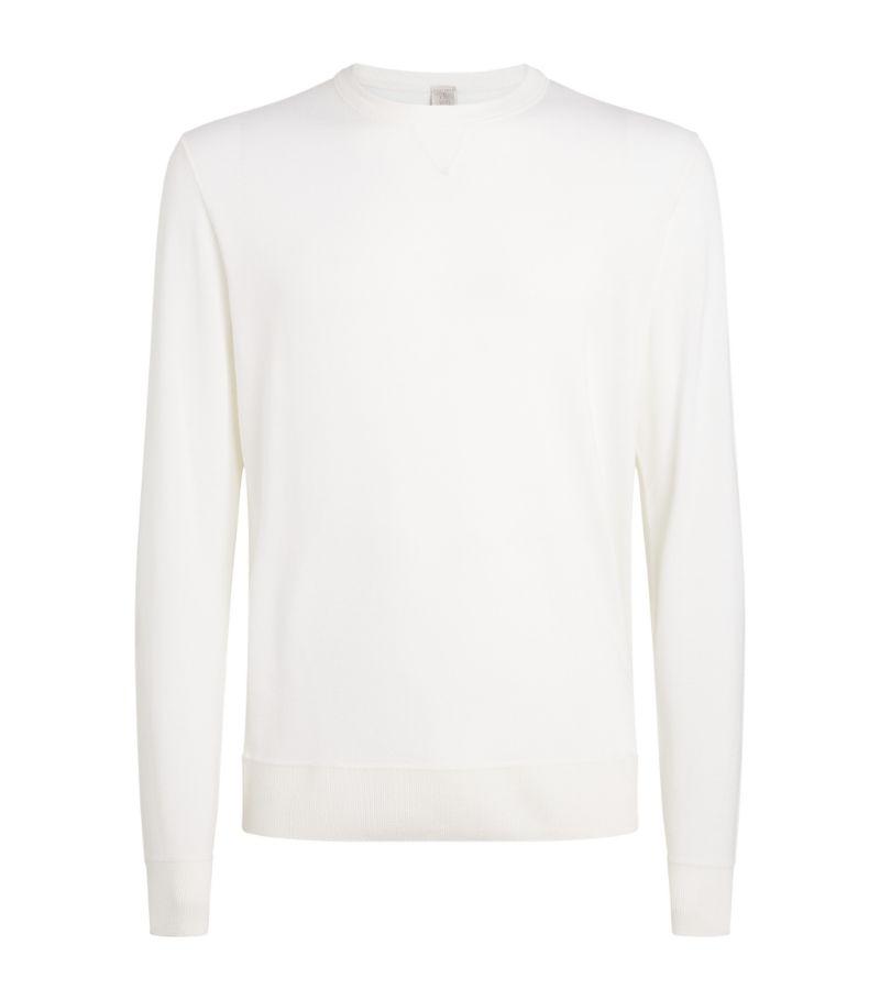Eleventy Knit Wool-Silk Sweater