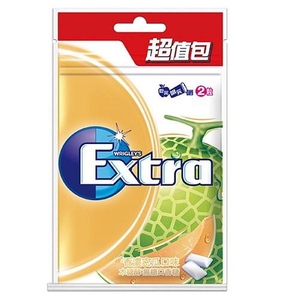 Extra無糖口香糖超值包-香濃蜜瓜62g【愛買】