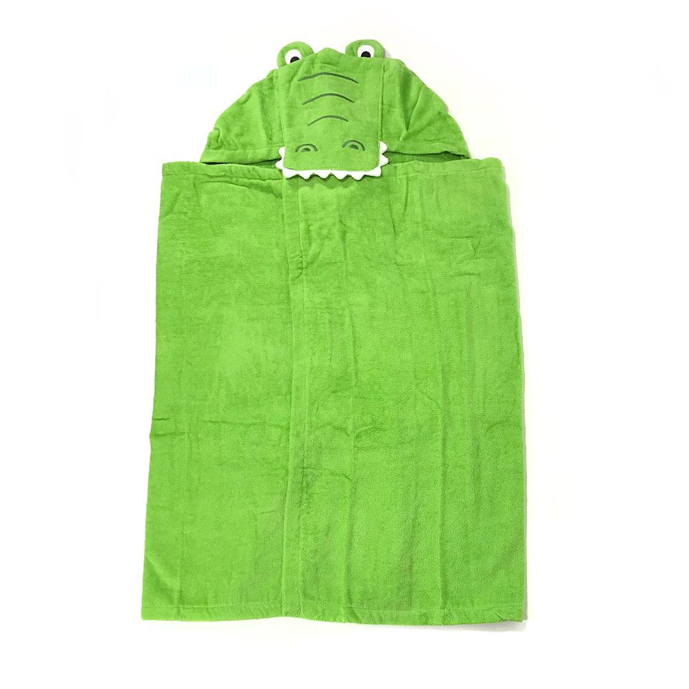 兒童大浴巾 嬰兒四季被毯子 127cm 王者小鱷魚【CA240G002】AC0100