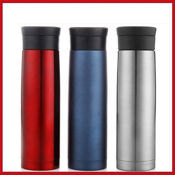 <特價出清>高檔商務杯 304不鏽鋼真空保溫杯420ML (高雅紅)【AE02331】99愛買小舖