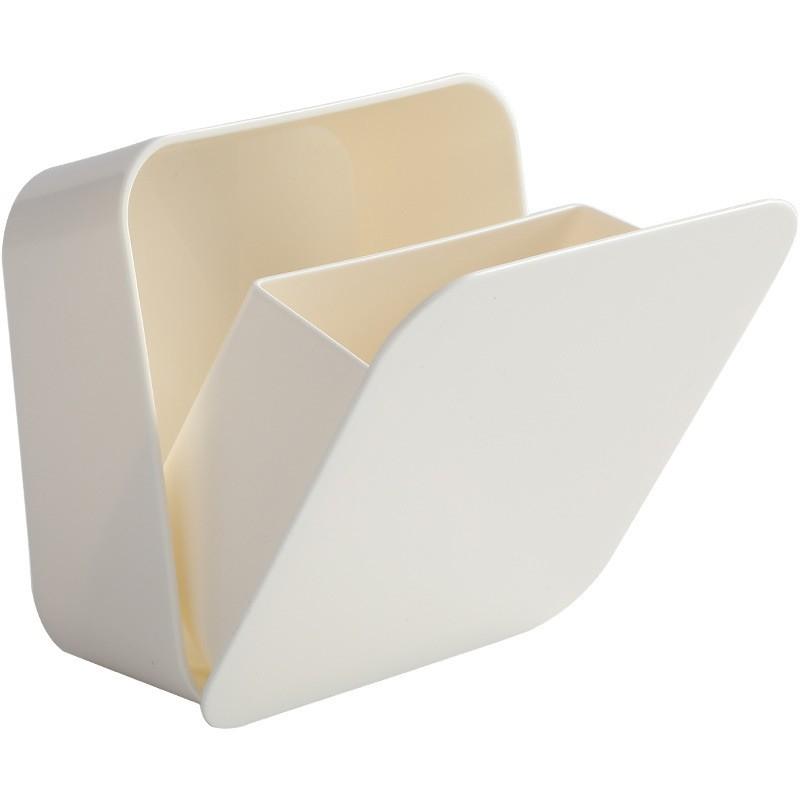 壁貼式開闔收納盒 浴室收納 雜物收納 免釘 免打孔 簡約 日式【JI2625】《Jami》