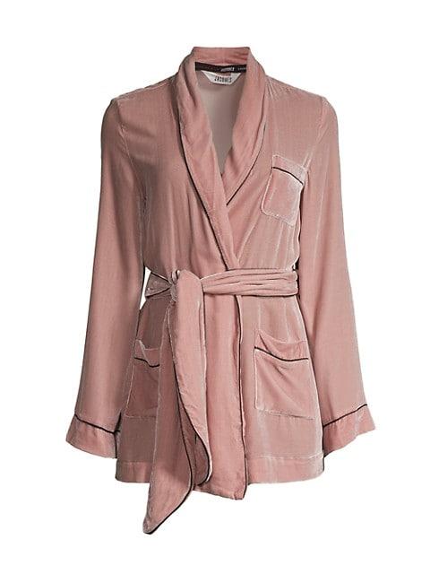Bon Vivant Velvet Robe