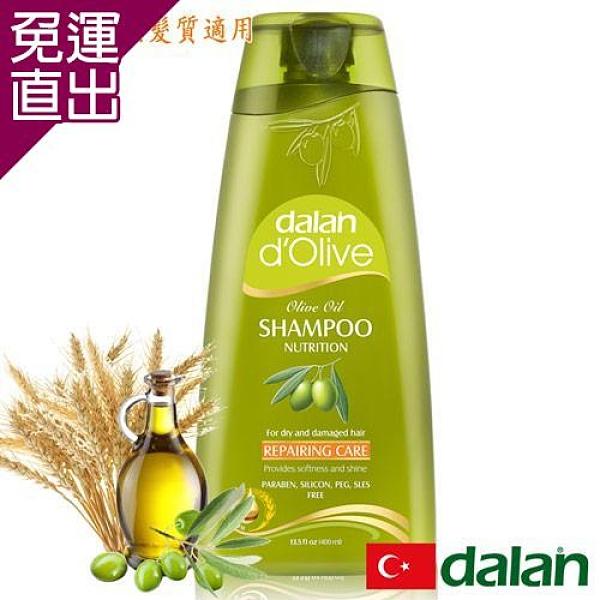 土耳其dalan 橄欖油小麥蛋白修護洗髮露(乾燥/受損髮質)400ml (即期品至2021.07)【免運直出】
