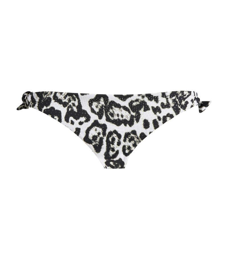 Ermanno Scervino Leopard Print Bikini Bottoms