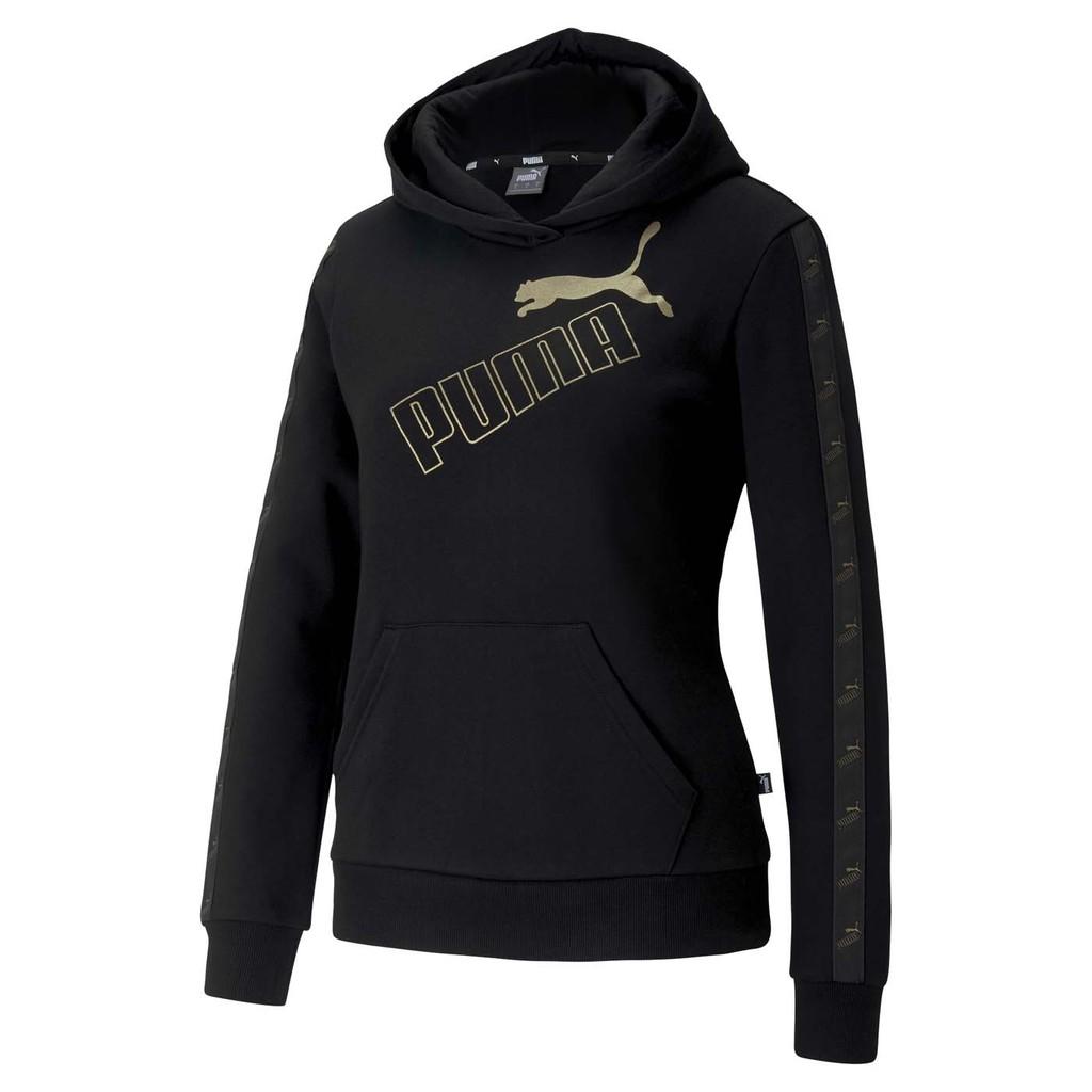 Puma Amplified 女款 黑 長袖上衣 帽T 運動 休閒 保暖 58361551 Sneakers542