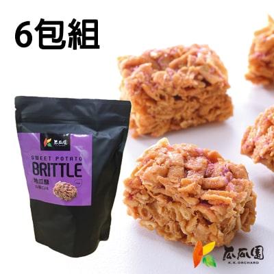 【瓜瓜園】山藥地瓜酥150g/包(共6入)