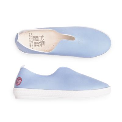 【台福製鞋】質感V型休閒鞋-天空藍T1071)