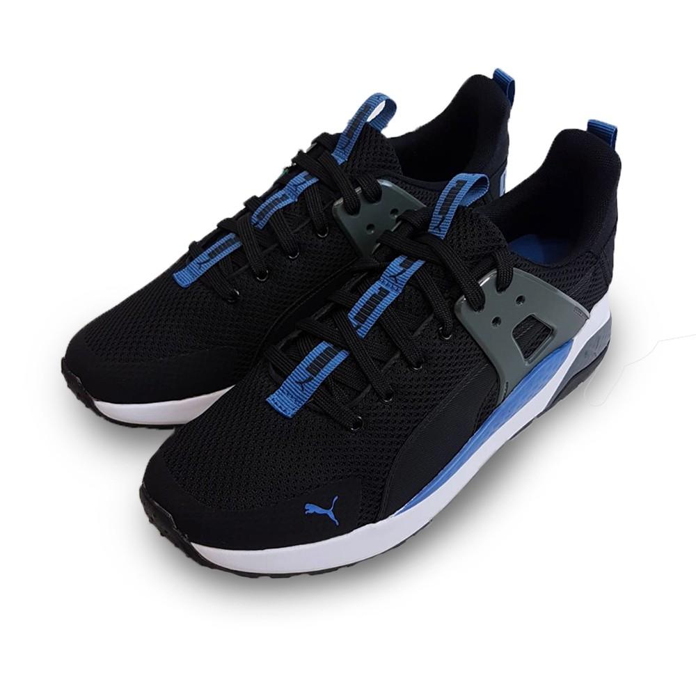 PUMA 男款 黑藍 慢跑鞋 休閒 運動 37231213 Sneakers542